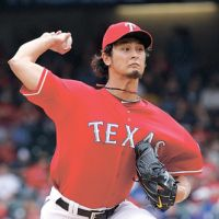 Risky business: The Texas Rangers spent over $110 million to acquire pitcher Yu Darvish. | AP