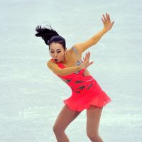 Flair pair: Daisuke Takahashi and Mao Asada both lead heading into Saturday's free skate at the Grand Prix Final in Sochi, Russia. | AFP-JIJI
