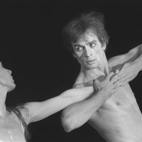 Dynamic duo: Rudolf Nureyev performs with Ghislaine Thesmar in the ballet 'Afternoon of a Faun' at Le Bourget in Paris in May 1980. | AFP-JIJI