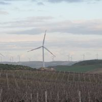 Money spinners:  This wind farm, built on a former vineyard near  Trapani, Sicily, was seized by prosecutors as part of an operation targeting renewable-energy projects with links to organized crime. | THE WASHINGTON POST