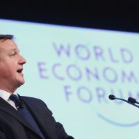 Cameron reaches out to EU in Davos