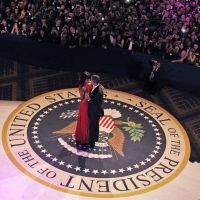Commanding presence: President Barack Obama and first lady Michelle Obama dance together at the Commander-in-Chief Inaugural Ball at the Washington Convention Center during the 57th Presidential Inauguration on Jan. 21. | AP