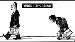 Three Steps Behind