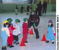 Fostering family togetherness on the rink