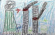 A chilling rendition of Sept. 11 by a 7-year-old