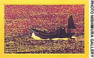 'Time of Sea/Yellow' by Goh Shigi, oil on canvas, lacquer on board (2000)