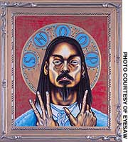 'Snoopdogg Icon' by Tom Sanford