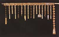 Gold belt with ornaments, Three Kingdoms Period (5th century)