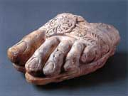 'Left Foot of Zeus' (third century B.C.)