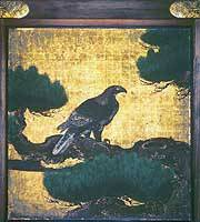 'Hawk in Pine Tree' from Nijo Castle, Kyoto