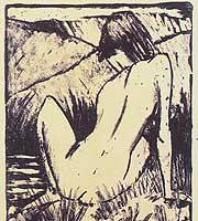 'Olympia' (1924) by Otto Müller