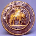 Phalera depicting a war elephant