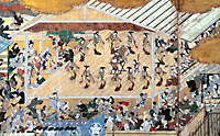 The razzle-dazzle of Edo life, art