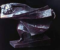 Sculptor Ernst Barlach's 'The Avenger' (1914) | COURTESY OF ERNST BARLACH STIFTUNG GUSTROW