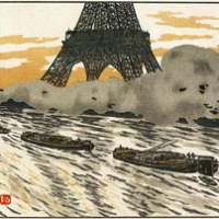 Seeing Paris through Hokusai's eyes