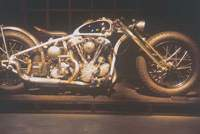 a 'knucklehead'-type Harley-Davidson engine forms the heart of this monster. | MARTIN WEBB PHOTOS