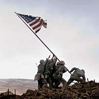 A scene from Clint Eastwood's new film 'Flags of Our Fathers.' | (c)2006 Warner Bros. Entertainment Inc. and DreamWorks LLC All Rights Reserved