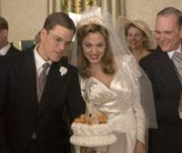 Matt Damon and Angelina Jolie in 'The Good Shepherd'