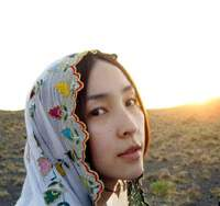 Kumiko Aso in the Iran-Japan production 'Hafez'
