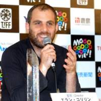 Award-winning director Eran Kolirin, at the news conference following the closing ceremonony of the Tokyo International Film Festival | YOSHIAKI MIURA PHOTOS