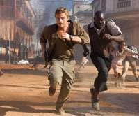 Leonardo DiCaprio and Djimon Hounsou in 2006 movie 'Blood Diamond,' for which DiCaprio was nominated for a best actor Oscar. | AP/WARNER BROS. PICTURES PHOTO