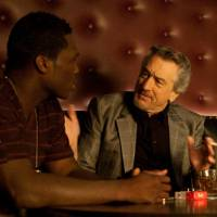 Get Oscar or die trying: Rapper 50 Cent fails to learn a few valuable lessons in acting from Robert De Niro in 'Freelancers.' | © 2011 GEORGIA FILM FUND THREE, LLC