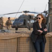 On the hunt: Actress Jessica Chastain plays CIA operative Maya in 'Zero Dark Thirty.' The film, about the mission to kill terrorist leader Osama bin Laden, is based on factual accounts. | JONATHAN OLLEY / © 2012 CTMG. ALL RIGHTS RESERVED