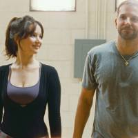 Crazy for you: Tiffany (Jennifer Lawrence) and Pat (Bradley Cooper) find mutual support as they together battle their demons in 'Silver Linings Playbook.' | © 2012 SLPTWC FILMS, LLC. ALL RIGHTS RESERVED.