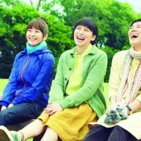 Birds of a feather (L-R): Yoko Maki, Ko Shibasaki and Shinobu Terajima play three friends in 'Su-chan Mai-chan Sawako-san (Sue, Mai and Sawa: Righting the Girl Ship).' | &#169; 2012 EIGA 