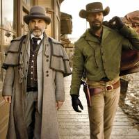 Black and white see red: Christoph Waltz and Jamie Foxx play a German-American bounty hunter and his African-American partner, who together wreak retribution on slave-owners in the Deep South in the period immediately preceding the American Civil War.