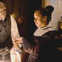 Samuel L. Jackson plays a slave with mixed loyalties.