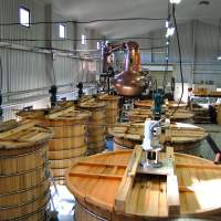 Crafting liquid treasure: The main distillery at Chichibu Distillery in Saitama Prefecture, home to Ichiro's Malt and its acclaimed 'card' series of whiskies. | MELINDA JOE
