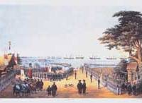 Commodore Perry's  'Great Landing' to meet the imperial commissioners at Yokohama on March 8, 1854 | PHOTO COURTESY OF YOKOHAMA ARCHIVES OF HISTORY