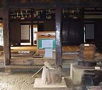 The airy interior of one of the 25 minka at Nihon Minka-en in Kawasaki, Kanagawa Prefecture.