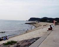 Present-day Onoura beach
