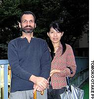 Tony Laszlo and Saori Ogura