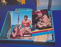 Old movie posters and fliers