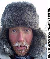 Alastair Humphreys in Siberia