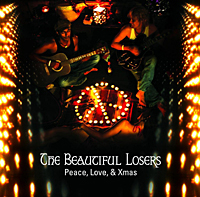 The Beautiful Losers, Raj Ramayya and Brett Boyd, play electro-acoustic-Indian alternative rock. They appeared at the Fuji festival this year and have just released their second album, 'Peace, Love, and Xmas.'