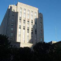 Oklahoma County Courthouse, where the mock-trial championship was held