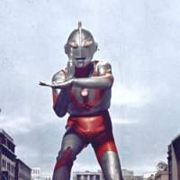Ultraman gets set to fire his 'specium beam' in 1966's 'Ultraman' series. | (c) TSUBURAYA PRODUCTIONS CO., LTD