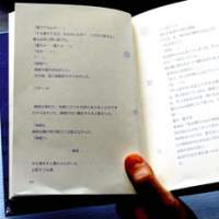 A page from Rin's hit  keitai  (mobile-phone) novel 'Moshimo Kimiga (If You . . . )' | YOSHIAKI MIURA PHOTO