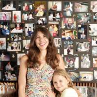Kim Forsythe and her husband created The Tyler Foundation after her 2-year-old son, Tyler (below), died of leukemia in 2005. Here, Forsythe poses with her daughter, Natalie Ferris, in her Tokyo home. | MORI KODA PHOTO