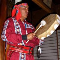 Hopi messenger and silversmith Ruben Saufkle is dedicated to healing the Earth, his people, and to protecting Hopi craftwork, such as the jewelry (below), from being pirated.