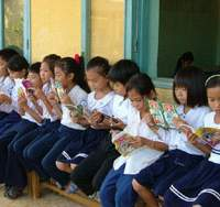 Bringing books, schools to the world's children