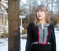 Joanna Newsom will bring her poems and harp to Japan this month.