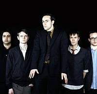 Warp label artists Maximo Park