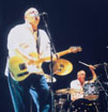 2001: | Neil Young and Crazy Horse put younger acts to shame with a frenzied 2 1/2-hour set that never seemed like it would end, and no one seeming to want it to.
