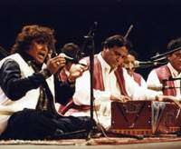 Renowned Pakistani qawwali singer Faiz Ali Faiz