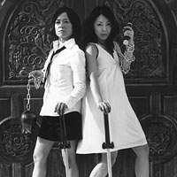 'Chicks want to play metal too,' say Sugar Yoshinaga (left) and Yuka Yoshimura.